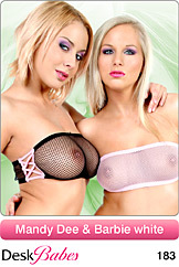 Mandy Dee & Barbie White